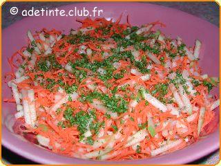 Carottes r p es la pomme une recette de cuisine avec adt recettes - Rape a carottes manuelle ...