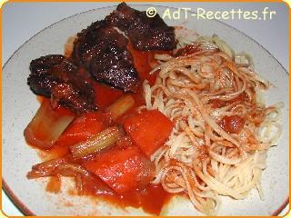 Joue de b uf fa on daube une recette de cuisine avec adt - Cote de boeuf a la cocotte ...